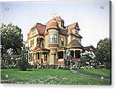 Victorian House Acrylic Print by Ericamaxine Price