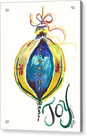 Victorian Joy Ornament Acrylic Print by Michele Hollister - for Nancy Asbell