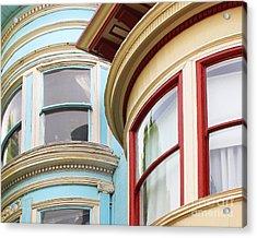Victorian San Francisco Acrylic Print