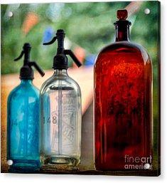 Victorian Soda Syphon Acrylic Print