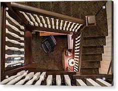 Victorian Stairway Acrylic Print