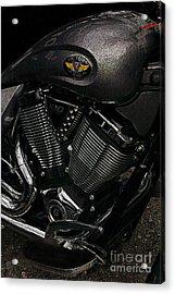 Victory Motorcycle Acrylic Print
