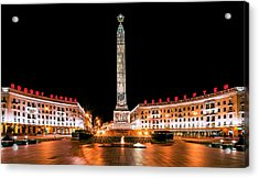 victory Square Acrylic Print