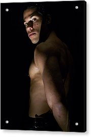 Vidax Light Shadow And Muscle Acrylic Print by Jake Hartz