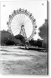 Viennese Giant Wheel Acrylic Print