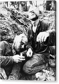 Vietnam War Medic 1966 Acrylic Print by Granger