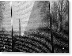 Vietnam War Veterans Memorial Acrylic Print
