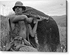 Vietnam War, Vietnam, Specialist. 4 Acrylic Print