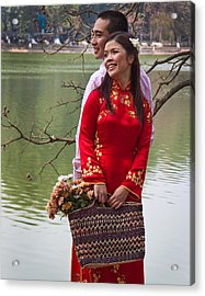 Vietnam Wedding Acrylic Print