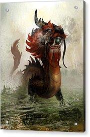 Vietnamese Dragon Acrylic Print