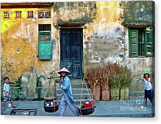 Acrylic Print featuring the photograph Vietnamese Street Food Sound by Silva Wischeropp