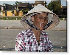Vietnamese Street Vendor Acrylic Print