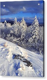 View Along Highland Scenic Highway Acrylic Print