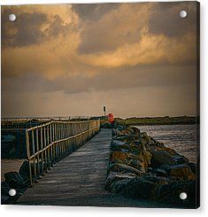 Acrylic Print featuring the photograph View At Staffin 1 #g9 by Leif Sohlman