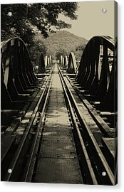 View From A Bridge - River Kwai Acrylic Print