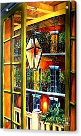 View From A French Quarter Balcony Acrylic Print by Diane Millsap