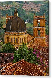 View From A Hill 2 Acrylic Print