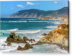 View From Abalone Point Acrylic Print