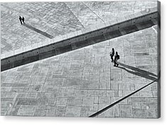 View From Above - Oslo Opera House Acrylic Print