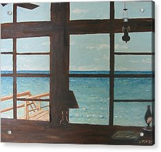 View From Blue House II Acrylic Print by John Terry