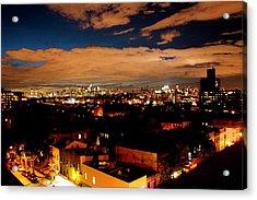 View From Brooklyn  Acrylic Print by Brian  Vitagliano
