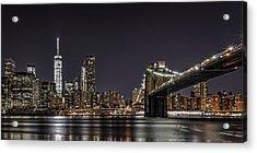 View From Brooklyn Bridge Park Acrylic Print