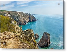 View From Cabo Da Roca - The Western Point Of Continental Europe Acrylic Print by Dragomir Nikolov