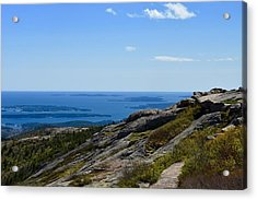 View From Cadillac Mountain Acrylic Print