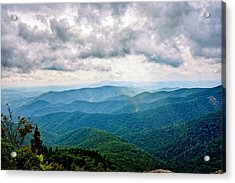 View From Devil's Courthouse Acrylic Print