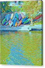 View From East Side Boardwalk Acrylic Print