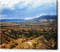 Acrylic Print featuring the photograph View From Ghost Ranch, Nm by Kurt Van Wagner