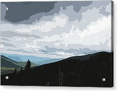 View From Mount Washington II Acrylic Print by Suzanne Gaff