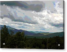 View From Mount Washington IIi Acrylic Print by Suzanne Gaff