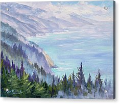 View From Nepenthe Acrylic Print