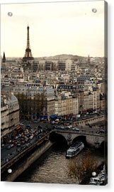 View From Notre Dame Acrylic Print by Cabral Stock