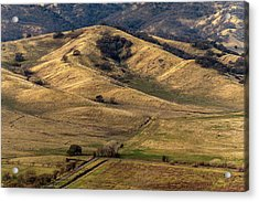 View From Pena Adobe Acrylic Print