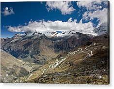 View From Portachuelo Pass Acrylic Print