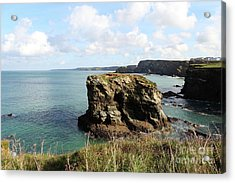 Acrylic Print featuring the photograph View From Porth Peninsula by Nicholas Burningham