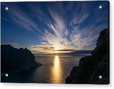 Acrylic Print featuring the photograph View From Ryten by James Billings