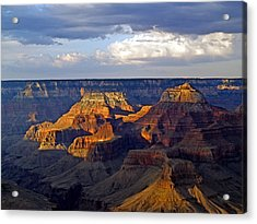 View From South Rim Acrylic Print by Carrie Putz
