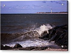 View From The Cove Acrylic Print by Tom Singleton