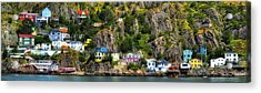 View From The Harbor St Johns Newfoundland Canada Acrylic Print