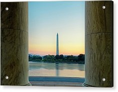 View From The Jefferson Memorial Acrylic Print