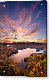 View From The Ledge Acrylic Print