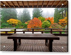 View From The Pavilion Acrylic Print