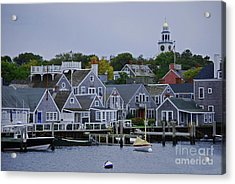 View From The Water Acrylic Print by Lori Tambakis