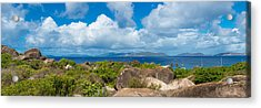 View From Top Of The Baths On Virgin Acrylic Print by Panoramic Images