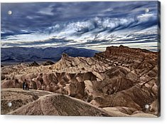 View From Zabriskie Point  Acrylic Print