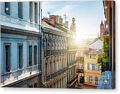 View In Toulouse Acrylic Print