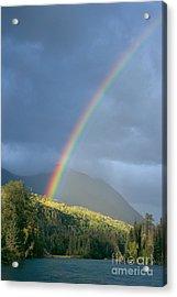 View Of Alaska Acrylic Print by Gloria & Richard Maschmeyer - Printscapes